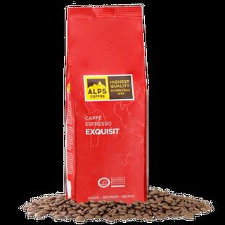Alps Coffee Espresso Exquisit -1000g Bohnen