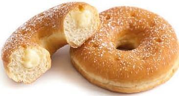 Ital. Donut - Vanillecreme