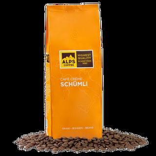 Alps Coffee Café Crème Schümli - 1000g Bohnen