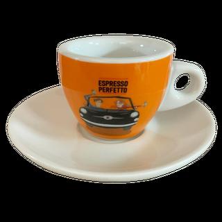Espresso Perfetto Espresso Tasse Orange